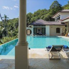 Отель Stunning Oceanview Villa Taipan Таиланд, пляж Панва - отзывы, цены и фото номеров - забронировать отель Stunning Oceanview Villa Taipan онлайн бассейн фото 2