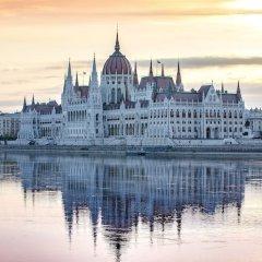 Отель Novotel Budapest City Будапешт приотельная территория