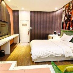 Отель Yi Lai Hotel Xian North Ming City Wall Китай, Сиань - отзывы, цены и фото номеров - забронировать отель Yi Lai Hotel Xian North Ming City Wall онлайн комната для гостей фото 2