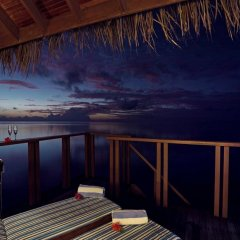 Отель Medhufushi Island Resort балкон