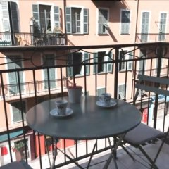 Отель Nice Booking - Nicki Port/garibaldi Balcon Ницца балкон