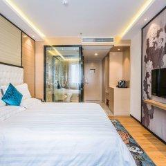Отель Hoper Hotel (Shenzhen Huanggang Port) Китай, Шэньчжэнь - отзывы, цены и фото номеров - забронировать отель Hoper Hotel (Shenzhen Huanggang Port) онлайн комната для гостей фото 2