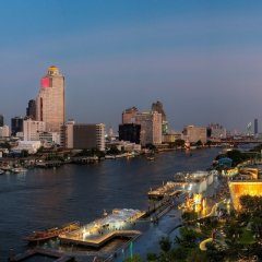 Отель Millennium Hilton Bangkok Бангкок пляж фото 2