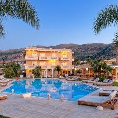 Отель Socrates Hotel Греция, Малия - 1 отзыв об отеле, цены и фото номеров - забронировать отель Socrates Hotel онлайн бассейн фото 3