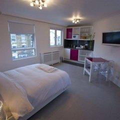 Отель Central Park Studios Великобритания, Лондон - 8 отзывов об отеле, цены и фото номеров - забронировать отель Central Park Studios онлайн комната для гостей фото 3