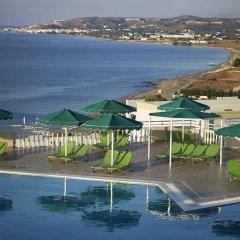 Отель Mitsis Family Village Beach Hotel Греция, Калимнос - отзывы, цены и фото номеров - забронировать отель Mitsis Family Village Beach Hotel онлайн пляж