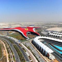 Radisson Blu Hotel, Abu Dhabi Yas Island спортивное сооружение