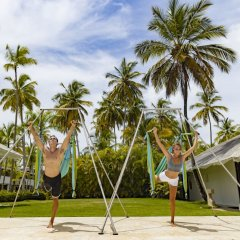Отель The Level at Melia Punta Cana Beach Adults Only фитнесс-зал фото 2