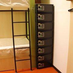 Хостел Винегрет сейф в номере