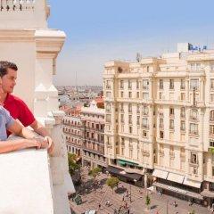 Отель NH Collection Madrid Gran Vía Испания, Мадрид - 1 отзыв об отеле, цены и фото номеров - забронировать отель NH Collection Madrid Gran Vía онлайн балкон
