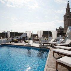 Отель Fontecruz Sevilla Seises Испания, Севилья - отзывы, цены и фото номеров - забронировать отель Fontecruz Sevilla Seises онлайн бассейн фото 2