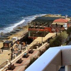 Отель The Diplomat Hotel Мальта, Слима - 9 отзывов об отеле, цены и фото номеров - забронировать отель The Diplomat Hotel онлайн пляж фото 2