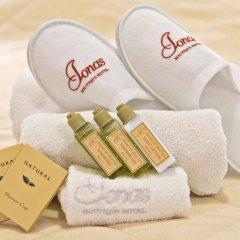 Отель Ionas Boutique Hotel Греция, Ханья - отзывы, цены и фото номеров - забронировать отель Ionas Boutique Hotel онлайн ванная