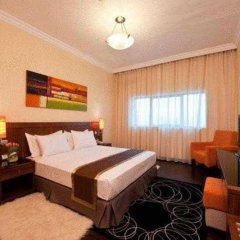 Отель Al Nawras Hotel Apartments ОАЭ, Дубай - 2 отзыва об отеле, цены и фото номеров - забронировать отель Al Nawras Hotel Apartments онлайн комната для гостей фото 4