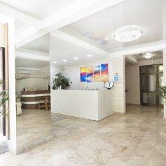 Гостиница Радужный интерьер отеля