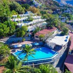 Отель Catalina Beach Resort Сиуатанехо бассейн фото 3