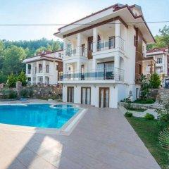 Olympia Villas Турция, Олудениз - отзывы, цены и фото номеров - забронировать отель Olympia Villas онлайн бассейн