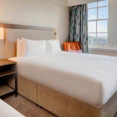 Отель Hilton Edinburgh Carlton 4* Стандартный номер с разными типами кроватей фото 2