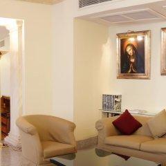 Отель Albergo Santa Chiara Италия, Рим - отзывы, цены и фото номеров - забронировать отель Albergo Santa Chiara онлайн интерьер отеля фото 3