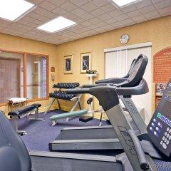 Отель Holiday Inn Express Vicksburg фитнесс-зал