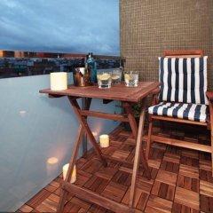 Отель Apartamentos Madanis - Hospitalet de Llobregat Испания, Оспиталет-де-Льобрегат - отзывы, цены и фото номеров - забронировать отель Apartamentos Madanis - Hospitalet de Llobregat онлайн балкон
