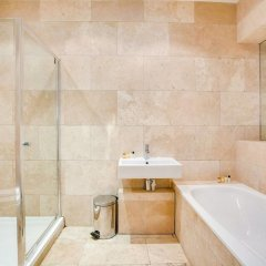 Отель Stunning 1 bed Apartment South Ken/knightsbridge Великобритания, Лондон - отзывы, цены и фото номеров - забронировать отель Stunning 1 bed Apartment South Ken/knightsbridge онлайн ванная фото 2