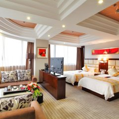 Отель Days Inn Hotspring Xiamen Сямынь комната для гостей фото 2