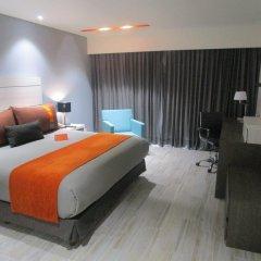 Отель Real Inn Perinorte Тлальнепантла-де-Бас комната для гостей фото 2