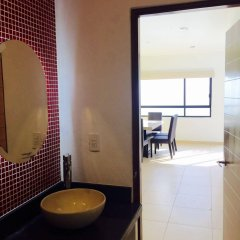 Отель Apartamentos Torre II Condominios ванная фото 2