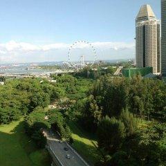 Отель Pan Pacific Serviced Suites Beach Road, Singapore балкон