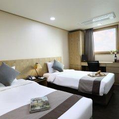 Отель Golden City Hotel Dongdaemun Южная Корея, Сеул - отзывы, цены и фото номеров - забронировать отель Golden City Hotel Dongdaemun онлайн комната для гостей фото 3