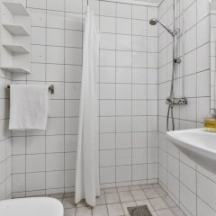 Апартаменты Forenom Serviced Apartments Oslo Rosenborg ванная