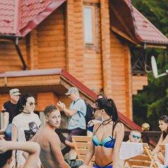 Гостиница Gorgany фитнесс-зал фото 2