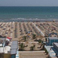 Hotel Genty пляж