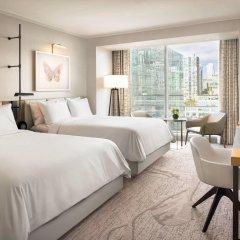 Отель JW Marriott Parq Vancouver Канада, Ванкувер - отзывы, цены и фото номеров - забронировать отель JW Marriott Parq Vancouver онлайн комната для гостей фото 3