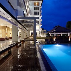Отель Turyaa Kalutara Шри-Ланка, Ваддува - отзывы, цены и фото номеров - забронировать отель Turyaa Kalutara онлайн бассейн фото 3