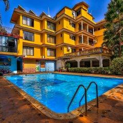Отель OYO 14036 Calangute Гоа бассейн фото 2