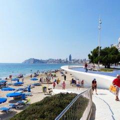 Отель Port Fleming Испания, Бенидорм - 2 отзыва об отеле, цены и фото номеров - забронировать отель Port Fleming онлайн пляж фото 2