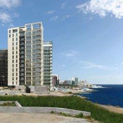 Отель Seafront LUX APT IN Fort Cambridge Мальта, Слима - отзывы, цены и фото номеров - забронировать отель Seafront LUX APT IN Fort Cambridge онлайн пляж фото 2