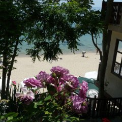Отель Morski Briag Hotel Болгария, Золотые пески - отзывы, цены и фото номеров - забронировать отель Morski Briag Hotel онлайн пляж фото 2