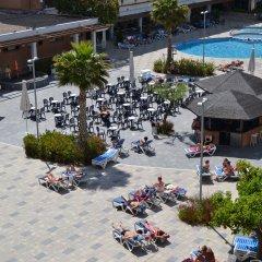Отель California Garden пляж