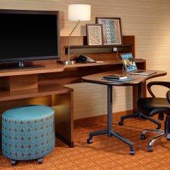 Отель Fairfield Inn & Suites Meridian удобства в номере