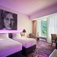 Отель Hard Rock Hotel Penang Малайзия, Пенанг - отзывы, цены и фото номеров - забронировать отель Hard Rock Hotel Penang онлайн комната для гостей фото 2