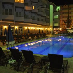 Grand Atilla Hotel Турция, Аланья - 14 отзывов об отеле, цены и фото номеров - забронировать отель Grand Atilla Hotel онлайн бассейн фото 2