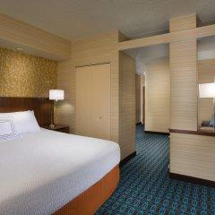 Отель Fairfield Inn & Suites by Marriott Columbus OSU США, Колумбус - отзывы, цены и фото номеров - забронировать отель Fairfield Inn & Suites by Marriott Columbus OSU онлайн комната для гостей