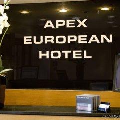 Отель Apex Haymarket Эдинбург интерьер отеля фото 2