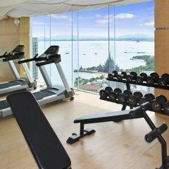 Отель Wong Amat Tower Apt.909 Паттайя фитнесс-зал