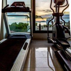 Отель C-View Residence Паттайя фитнесс-зал фото 4