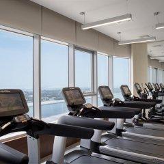 Отель Pearl Rotana Capital Centre фитнесс-зал
