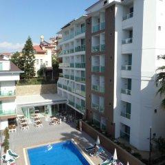 Kleopatra Atlas Hotel Турция, Аланья - 9 отзывов об отеле, цены и фото номеров - забронировать отель Kleopatra Atlas Hotel онлайн балкон